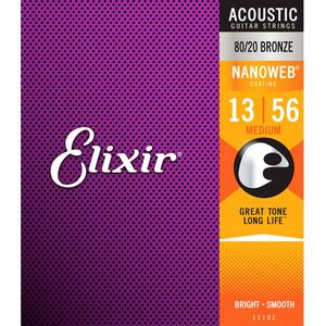 Elixir Acoustic NW Medium 013-056 통기타줄 11102