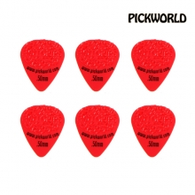 PNK-HGD50 Hot Grips 0.50mm Pick Delrin 6pack