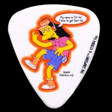 (지엠뮤직) 피크 Simpsons 0.85mm Pick-#06 Otto gets