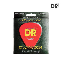 DSA-12 DRAGONSKIN 12-54 K3 Coated Acoustic Medium 통기타줄