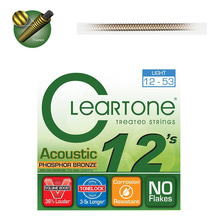 Cleartone PHOSPHOR BRONZE ACOUSTIC 12-53 통기타줄