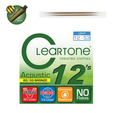 Cleartone 8020 BRONZE ACOUSTIC 12-53 통기타줄