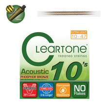 Cleartone PHOSPHOR BRONZE ACOUSTIC 10-47 통기타줄